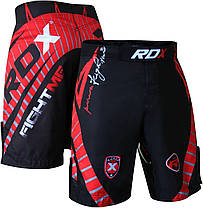 Шорты MMA RDX X8 Black XS, фото 3