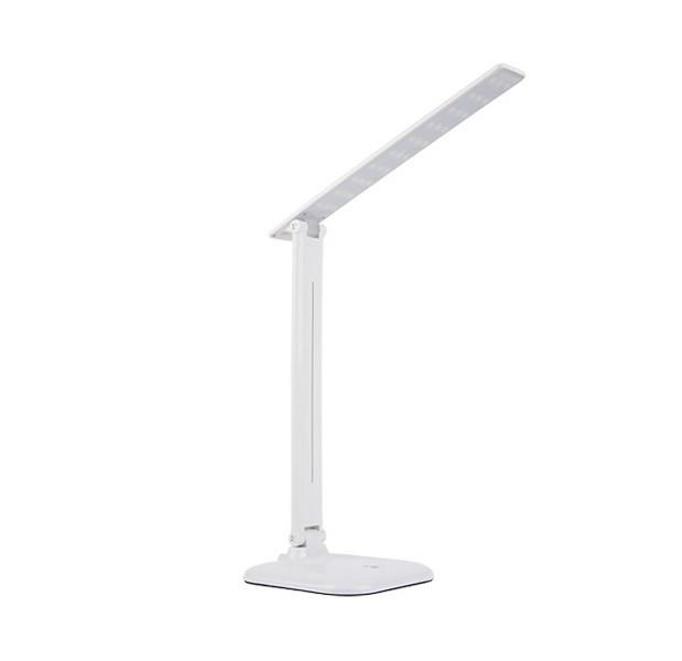 Світлодіодна настільна лампа білого кольору 10W 4000K GLX з трьома режимами яскравості NL 0.5 G
