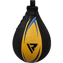 Пневмогруша боксерская RDX Simple Gold, фото 3