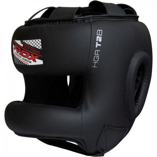 Боксерский шлем тренировочный RDX с бампером XL