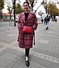 Кожаная женская S-0-347 Сумка женская Tony Bellucci кожа красная, флотар, фото 6