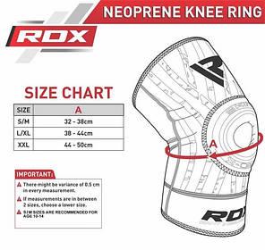 Наколенник спортивный неопреновый RDX New L/XL (1 шт), фото 2