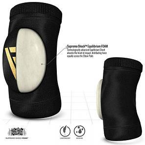 Налокотники для волейбола RDX Soft Black (2 шт.) XL, фото 2