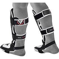 Накладки на ноги, защита голени RDX Leather L, фото 3