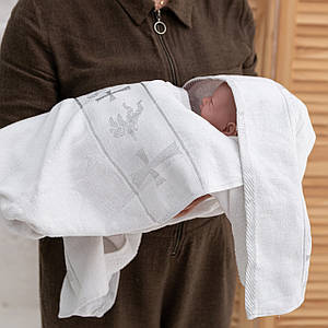 Крижмо для хрещення з вишивкою
