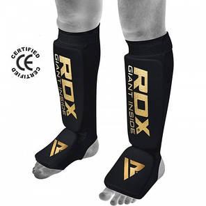 Накладки на ноги, защита голени RDX Soft Black M, фото 2