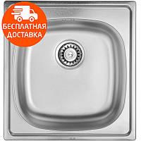Мойка для кухни ULA HB 6110 ZS Satin нержавеющая сталь, фото 1