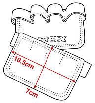 Накладки для подтягивания RDX Leather Black, фото 2