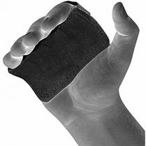 Накладки для подтягивания RDX Leather Black, фото 3