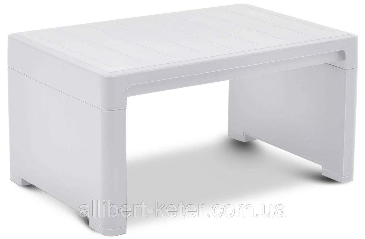 Стол для шезлонга Keter Lago Lounge Side Table White ( белый )