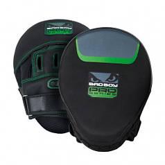 Лапы боксерские Bad Boy Pro Series 3.0 Precision Green