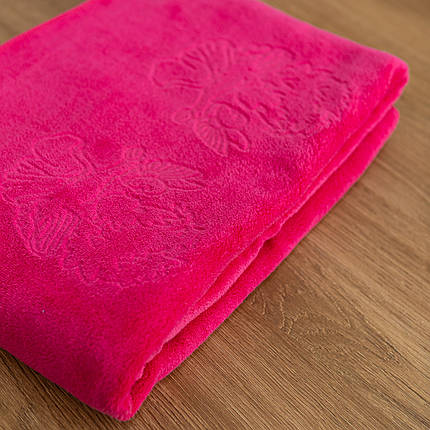 Крижмо рушник мікрофібра рожеве, фото 2