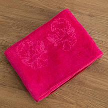 Крижмо рушник мікрофібра рожеве, фото 3