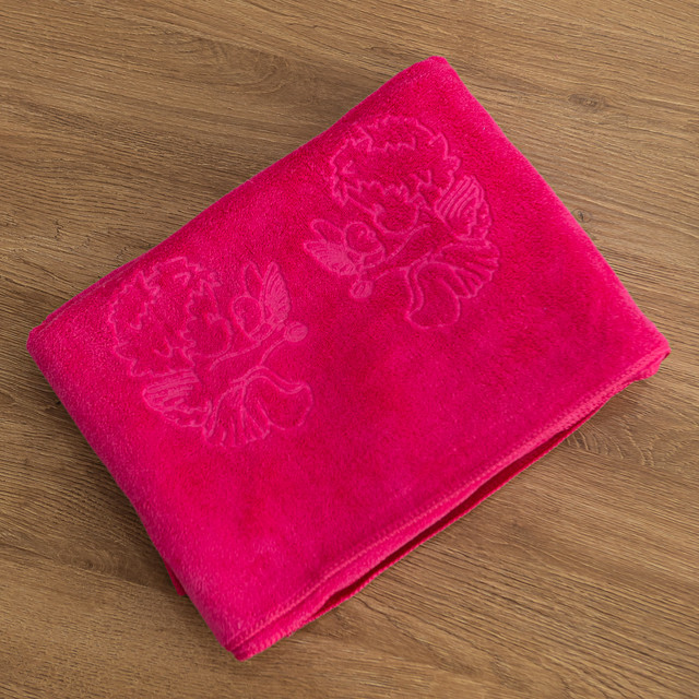 Крыжма полотенце микрофибра розовое
