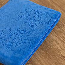 Крижмо рушник мікрофібра блакитне, фото 3