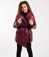 Зимняя куртка Нита для стильных модниц ТМ Suzie Размеры 134- 152