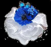 Бант с цветком