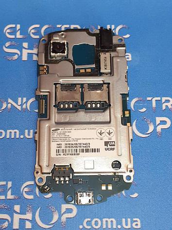 Плата основная (условно рабочая ) Samsung s5282 original б.у, фото 2