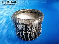 Керамический горшочек круглый №3, d-10см, h-6см