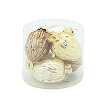Набор шаров тубус Орехи 4.5см 6шт 108145, фото 1