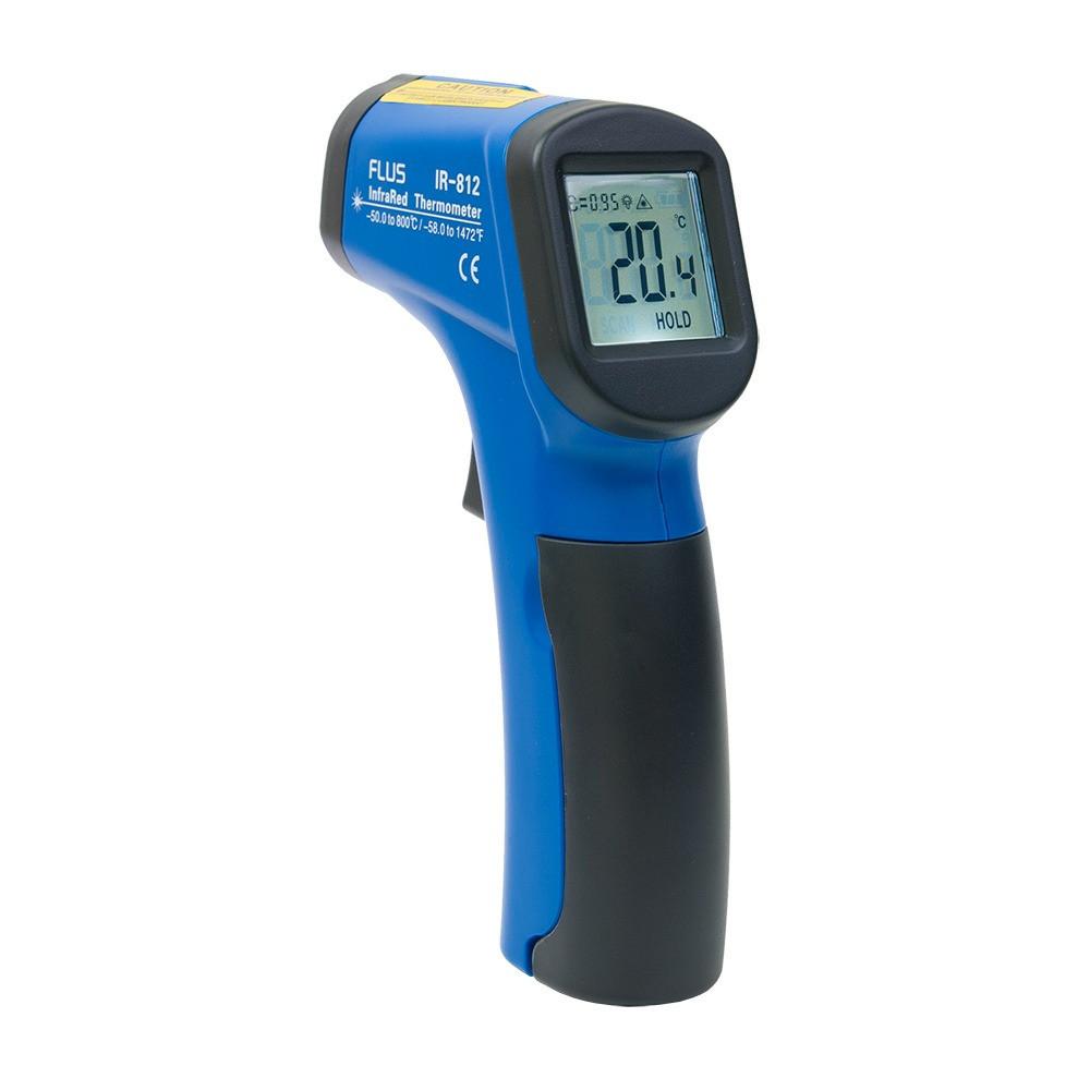 Інфрачервоний термометр - пірометр Flus IR-812 (-50...+800)