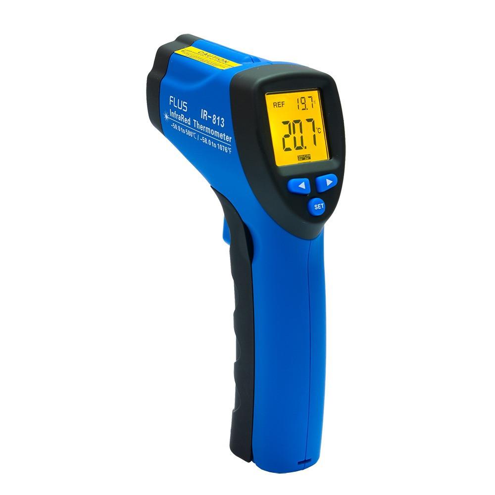 Інфрачервоний термометр - пірометр Flus IR-813 (-50…+580)