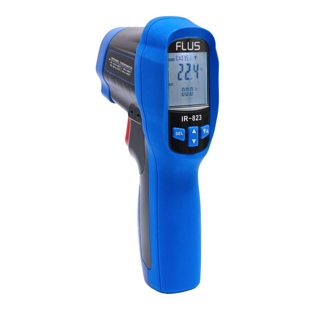 Інфрачервоний термометр - пірометр Flus IR-823 (-50...+1350)