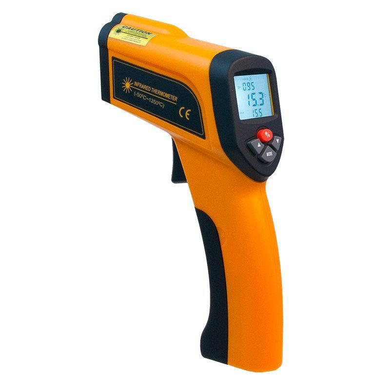 Пірометр Xintest HT-6896 (-50...+1350°C, 50:1) з термопарою