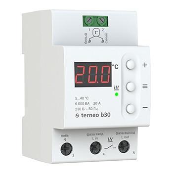 Потужний терморегулятор Terneo B30 / Мощный терморегулятор Тернео Б30