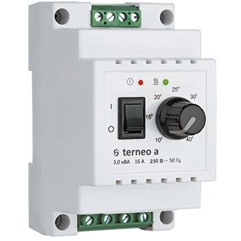Терморегулятор з датчиком Terneo A / Терморегулятор с датчиком Тернео А