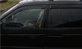 Ветровики, дефлекторы окон Volkswagen Passat B3 Wagon (universal) 1988-1997 'ANV-Air'