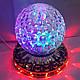 Диско-Лампа Хрустальный шар LED Magic Ball Light, фото 4