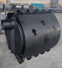 Печь-булерьян KOZAK 02 - 400 м³ + кожух, фото 3