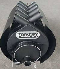 Печь-булерьян KOZAK 02 - 400 м³ + кожух, фото 2