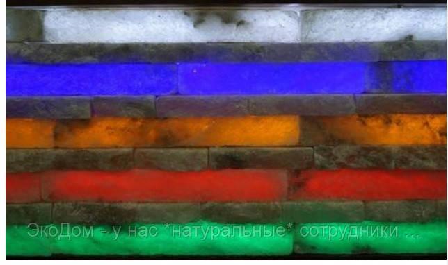 Стеновая панель из соляного камня.