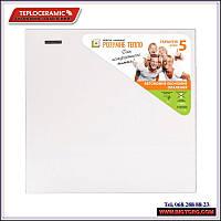 Керамічний обігрівач Teploceramic ТС-370 White (Білий) / Керамический обогреватель Теплокерамик ТС 370 Белый, фото 1