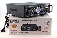 Усилитель звука Kiseki AV-339B Караоке USB Fm, фото 2