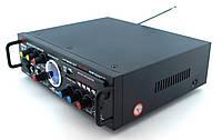 Усилитель звука Kiseki AV-339B Караоке USB Fm, фото 4