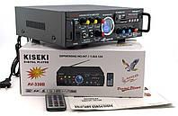 Усилитель звука Kiseki AV-339B Караоке USB Fm, фото 6