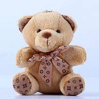 Брелок мягкая игрушка Мишка Тедди 10х6 см.
