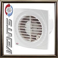Вентилятор Вентс 125 Д К Л Бытовой вытяжной обратный клапаном и подшипниками,сверх тонкая панель лицевая
