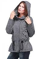 Женское пальто на с капюшоном