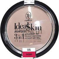 Компактна пудра TF Cosmetics IDEAL SKIN POWDER 3 IN 1 №05 слонової кістки