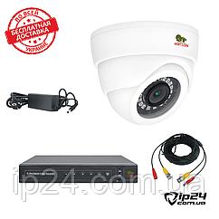Комплект видеонаблюдения на 1 камеру FullHD Partizan 1080