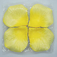 Искусственные лепестки роз SoFun желтые 140 шт