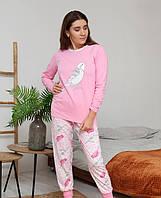 Теплая женская пижама с брюками Турция LA-1001