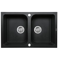 Кухонная мойка Perfelli CELINE PGC 2081-76 BLACK METALLIC