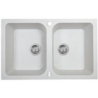 Кухонная мойка Perfelli CELINE PGC 208-76  WHITE
