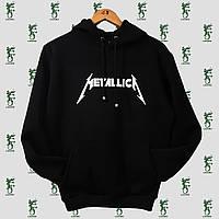Черная толстовка (худи) Metallica