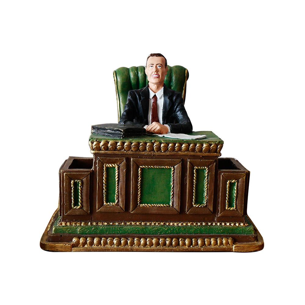 Статуетка Гранд Презент Шеф–чоловіча візитниця 22 см (ВП802)